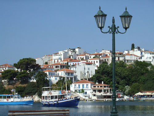 Skiathos Old Town and Harbour, 8 Mins Walk Away