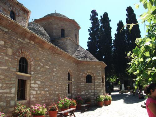 We Visit Skiathos Ancient Hill Top Monastry