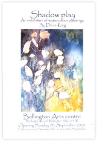 Shadow Play - an exhibition of watercolour paintings By Diane King