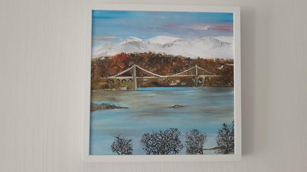Bridge of Angelsey Painting